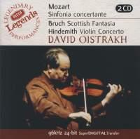 David Oistrakh plays Mozart, Bruch & Hindemith