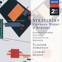 Stravinsky: Chamber Works & Rarities