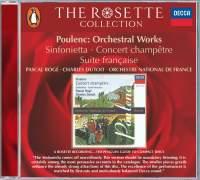 Sinfonietta, Pièce brève sur le nom d'Albert Roussel and other orchestral works