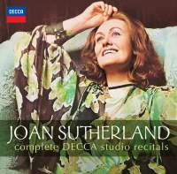 Joan Sutherland: Complete Decca Studio Recitals