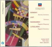 Dohnányi, Liszt, Rachmaninov & Lutosławski: Works for Piano & Orchestra