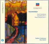 Rachmaninov: Symphonic Movement in D minor 'Youth Symphony', etc.