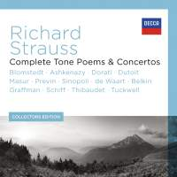 Richard Strauss: Complete Tone Poems and Concertos