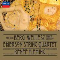 Berg, Wellesz and Zeisl: Works for soprano and string quartet