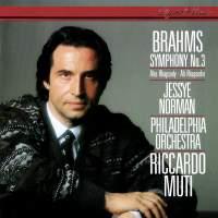 Brahms: Symphony No. 3 & Alto Rhapsody