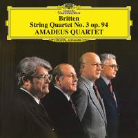 Britten: String Quartet No.3, Op.94
