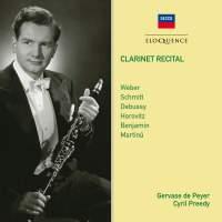 Clarinet Recital