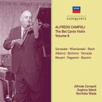 Alfredo Campoli: The Bel Canto Violin - Volume 6