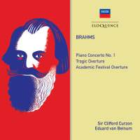 Brahms: Piano Concerto No. 1 & Overtures