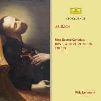 Bach: Nine Sacred Cantatas