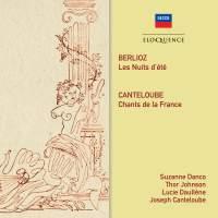 Berlioz: Les Nuits d'été & Canteloube: Chants de France