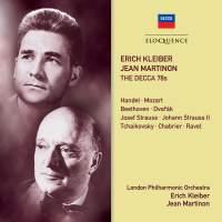Erich Kleiber, Jean Martinon - The Decca 78s