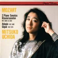 Mozart: Piano Sonatas K330 & K333