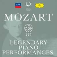 Mozart 225: Legendary Piano Performances