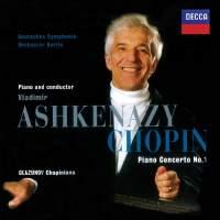 Chopin, Glazunov & Franck: Works for Piano & Orchestra