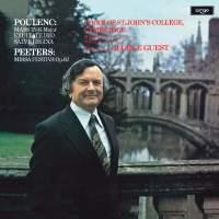 Poulenc: Mass in G&#x3B; Exultate Deo&#x3B; Salve Regina / Peeters: Missa Festiva