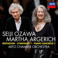 Argerich & Ozawa: Beethoven