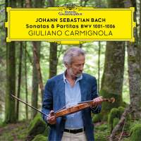 J. S Bach: Sonatas & Partitas for solo violin, BWV1001-1006