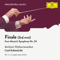 Mozart: Symphony No. 34 In C, KV 338: III. Finale