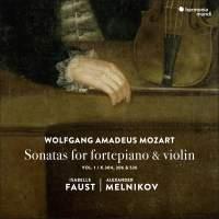 Mozart: Sonatas for fortepiano and violin