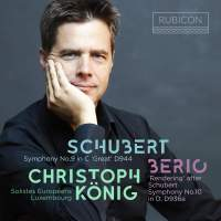 Christoph König conducts Schubert & Berio