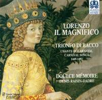 Lorenzo Il Magnifico - Trionfo di Bacco
