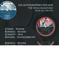 The Vocal Signatures (Les Autographes Vocaux)