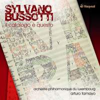 Bussotti: il catalogo é questo for soloists, choir & orchestra
