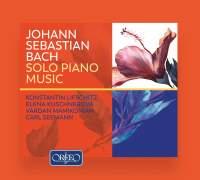 JS Bach: Solo Piano Music