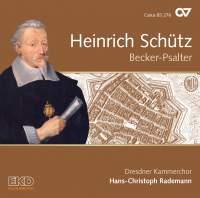 Schütz: Becker Psalter, Op. 5