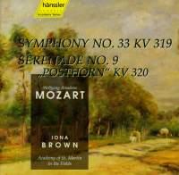 Mozart: Serenade No. 9 & Symphony No. 33