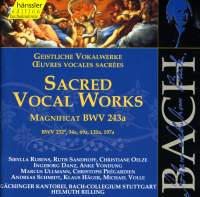 Bach: Sacred Vocal Works