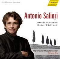 Salieri: Overtures & Ballet Music (Vol 1)
