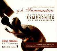 GB Sammartini: The Complete Early Symphonies
