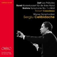 Sergiu Celibidache conducts Liszt, Brahms & Ravel