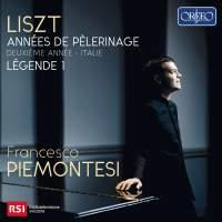 Liszt: Années de Pèlerinage&#x3B; Deuxiéme année - Italie & Legende 1