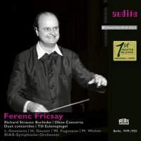Richard Strauss: Burleske, Oboe concert, Duet concertino & Till Eulenspiegel