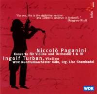 Paganini - Violin Concertos Nos. 1 & 3