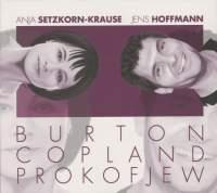 Burton, Copland & Prokofiev: Flute Works