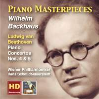 Piano Masterpieces: Wilhelm Backhaus Plays Beethoven