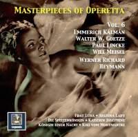 Masterpieces of Operetta, Vol. 6: Frau Luna, Kaiserin Joséphine, Arizona Lady & Others (Remastered 2016)
