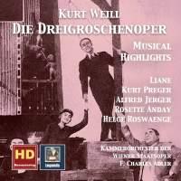 Weill: Die Dreigroschenoper – Musical Highlights (Remastered 2017)