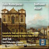 Violin Masterpieces: Josef Suk Plays Beethoven & Mozart (2019 Remaster)