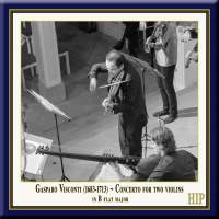 Visconti: Concerto for 2 Violins in B-Flat Major