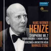 Henze, H: Symphony No. 7