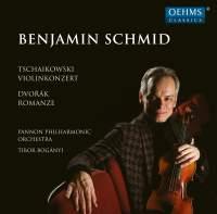 Tchaikovsky: Violin Concerto in D major & Dvořák: Romance for violin and orchestra
