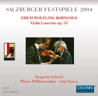 Korngold: Violin Concerto, Much Ado About Nothing, Suite Op. 23