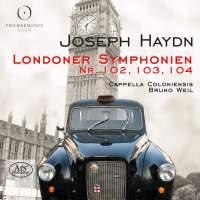 Haydn: Symphonies Nos. 102, 103, 104