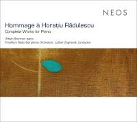 Hommage à Horațiu Rădulescu: Complete Works for Piano