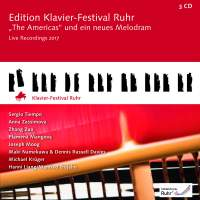 The Americas and a new Melodram: Edition Ruhr Piano Festival, Vol. 36